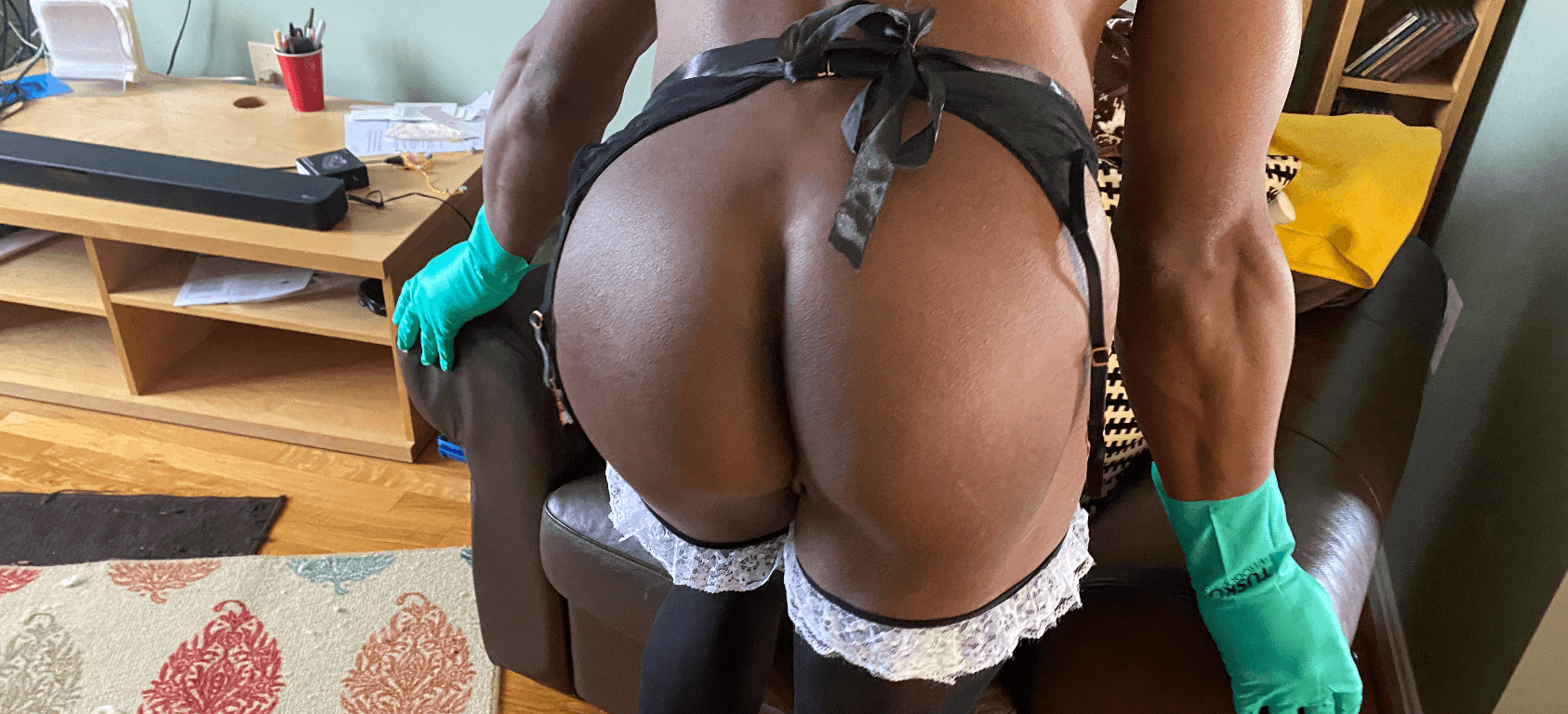 Sexy Male Maid
